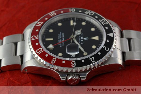 Used luxury watch Rolex GMT-Master II steel automatic Kal. 31854 Ref. 16710  | 152271 05