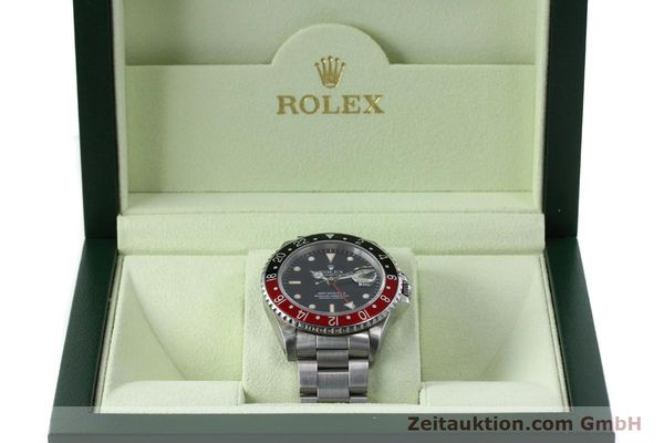 Used luxury watch Rolex GMT-Master II steel automatic Kal. 31854 Ref. 16710  | 152271 07