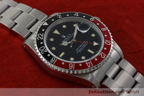 Used luxury watch Rolex GMT-Master II steel automatic Kal. 31854 Ref. 16710  | 152271 15