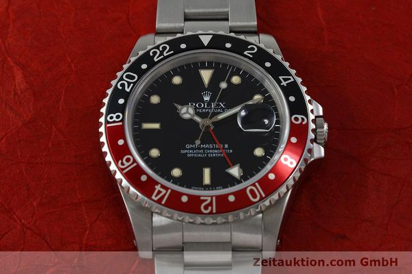 Used luxury watch Rolex GMT-Master II steel automatic Kal. 31854 Ref. 16710  | 152271 16