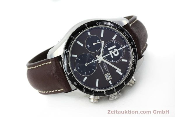 Used luxury watch Longines Grande Vitesse chronograph steel automatic Kal. L667.2 ETA 7750 Ref. L3.636.4  | 152272 03