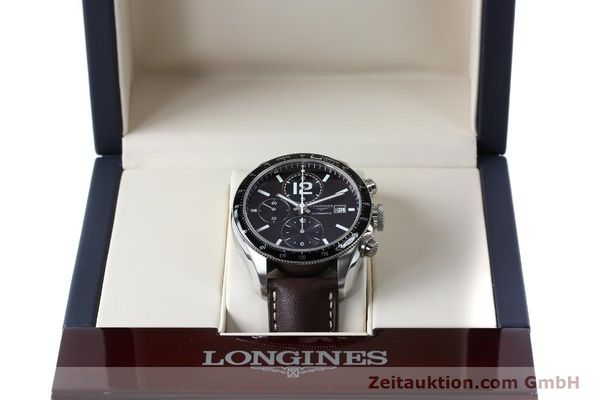Used luxury watch Longines Grande Vitesse chronograph steel automatic Kal. L667.2 ETA 7750 Ref. L3.636.4  | 152272 07
