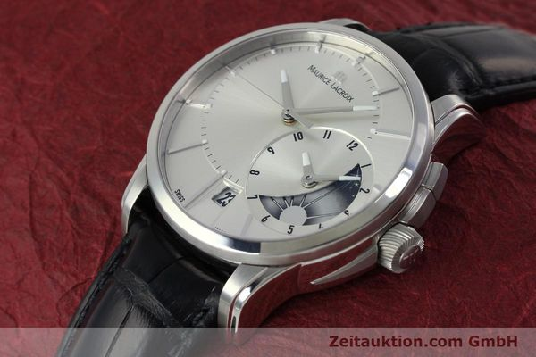 Used luxury watch Maurice Lacroix Pontos steel automatic Kal. ML 121- Selita 200 Ref. PT6118  | 152277 01