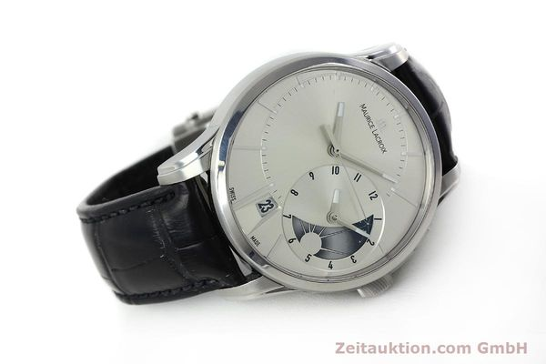 Used luxury watch Maurice Lacroix Pontos steel automatic Kal. ML 121- Selita 200 Ref. PT6118  | 152277 03