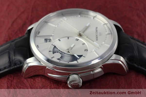 Used luxury watch Maurice Lacroix Pontos steel automatic Kal. ML 121- Selita 200 Ref. PT6118  | 152277 05
