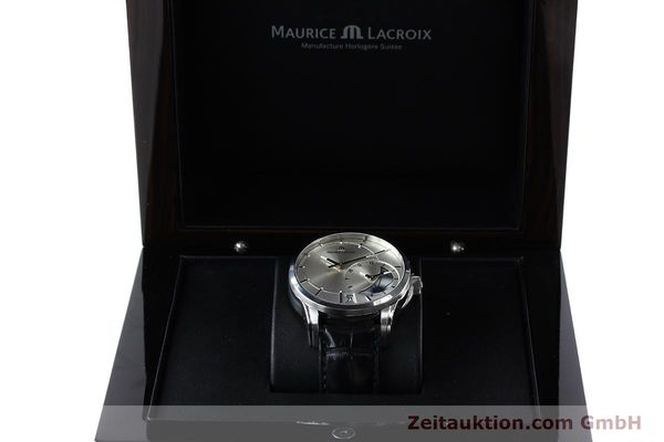 Used luxury watch Maurice Lacroix Pontos steel automatic Kal. ML 121- Selita 200 Ref. PT6118  | 152277 07