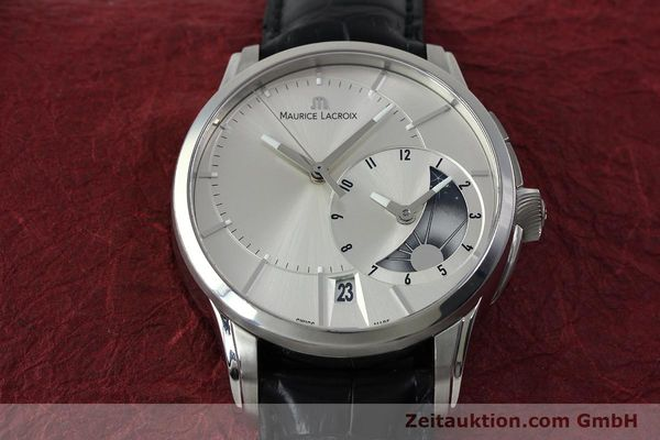 Used luxury watch Maurice Lacroix Pontos steel automatic Kal. ML 121- Selita 200 Ref. PT6118  | 152277 16