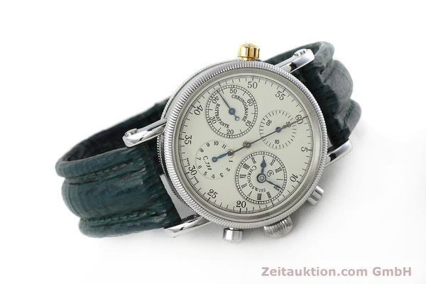 Used luxury watch Chronoswiss * chronograph steel / gold automatic Kal. 732 Ref. CH7323  | 152278 03