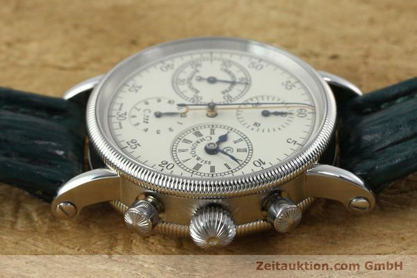 Used luxury watch Chronoswiss * chronograph steel / gold automatic Kal. 732 Ref. CH7323  | 152278 05