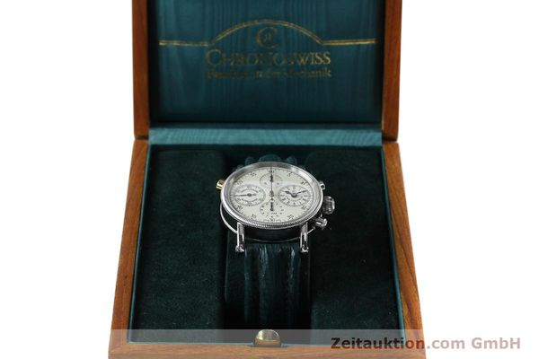 Used luxury watch Chronoswiss * chronograph steel / gold automatic Kal. 732 Ref. CH7323  | 152278 07