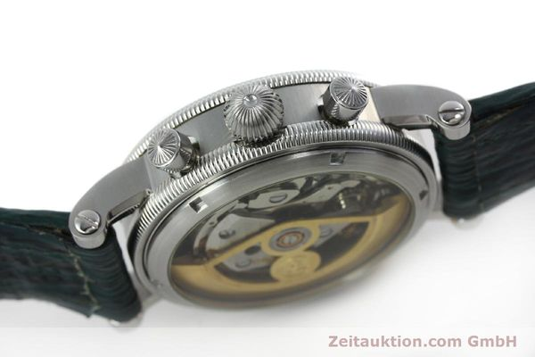Used luxury watch Chronoswiss * chronograph steel / gold automatic Kal. 732 Ref. CH7323  | 152278 11