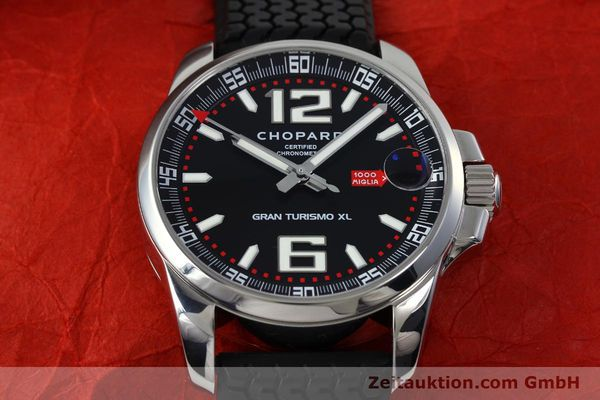 Used luxury watch Chopard Mille Miglia steel automatic Kal. ETA A07111 LIMITED EDITION | 152281 18