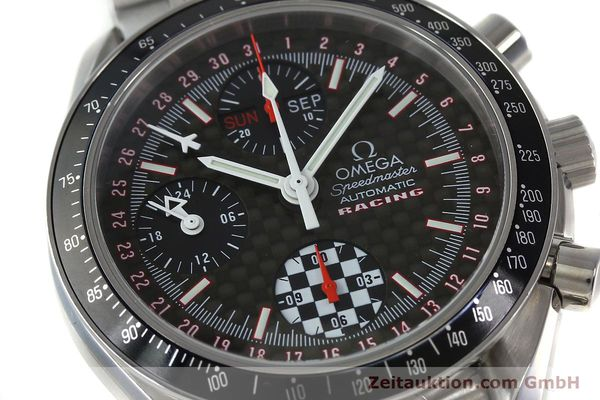 Used luxury watch Omega Speedmaster chronograph steel automatic Kal. 1151 Ref. 1750087 LIMITED EDITION | 152283 02