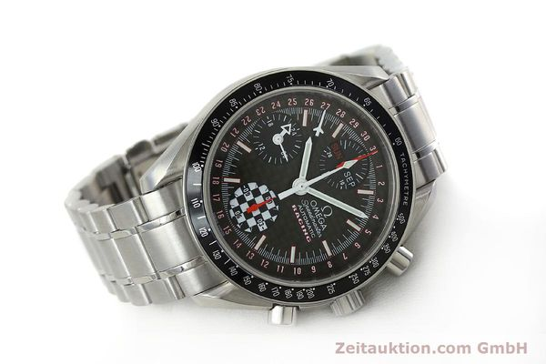 Used luxury watch Omega Speedmaster chronograph steel automatic Kal. 1151 Ref. 1750087 LIMITED EDITION | 152283 03