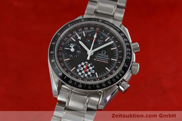 Used luxury watch Omega Speedmaster chronograph steel automatic Kal. 1151 Ref. 1750087 LIMITED EDITION | 152283 04