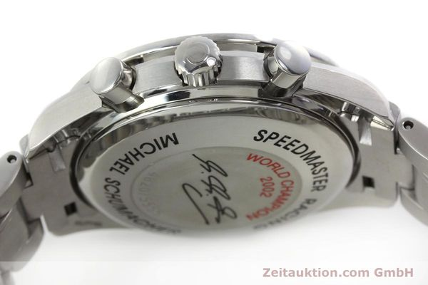 Used luxury watch Omega Speedmaster chronograph steel automatic Kal. 1151 Ref. 1750087 LIMITED EDITION | 152283 12