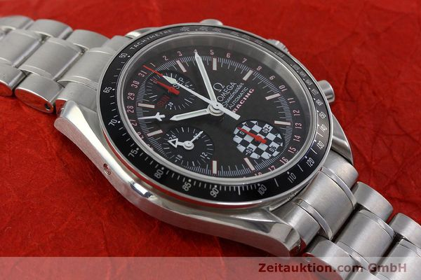 Used luxury watch Omega Speedmaster chronograph steel automatic Kal. 1151 Ref. 1750087 LIMITED EDITION | 152283 17