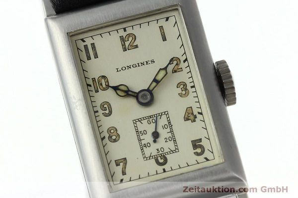 Used luxury watch Longines * steel manual winding Kal. 25.173 Ref. 3804 VINTAGE  | 152287 02