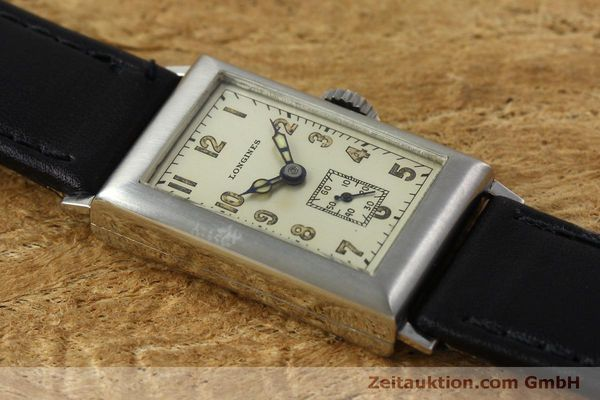 Used luxury watch Longines * steel manual winding Kal. 25.173 Ref. 3804 VINTAGE  | 152287 13