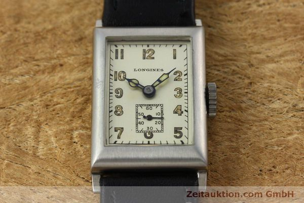 Used luxury watch Longines * steel manual winding Kal. 25.173 Ref. 3804 VINTAGE  | 152287 14
