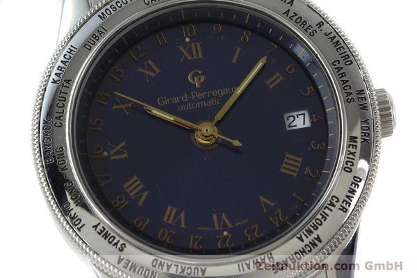 Used luxury watch Girard Perregaux GP 90 steel automatic Kal. 225-967 Ref. 1010  | 152291 02