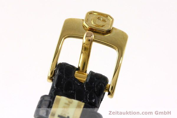 gebrauchte Luxusuhr Chopard Happy Diamonds 18k Gold Quarz Kal. ETA 201.001  | 152292 08