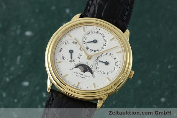 Used luxury watch Audemars Piguet Ewiger Kalender 18 ct gold automatic Kal. 2120/2 Ref. C75742  | 152293 04