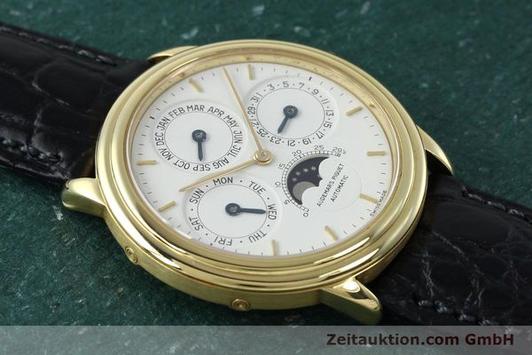 Used luxury watch Audemars Piguet Ewiger Kalender 18 ct gold automatic Kal. 2120/2 Ref. C75742  | 152293 16