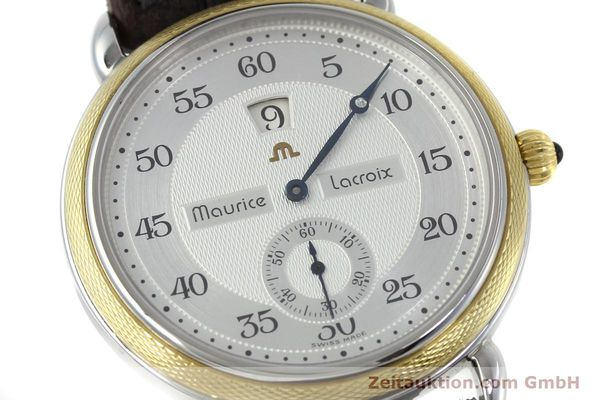Used luxury watch Maurice Lacroix Masterpiece steel / gold manual winding Kal. Peseux 7046 Ref. 28505  | 152300 02
