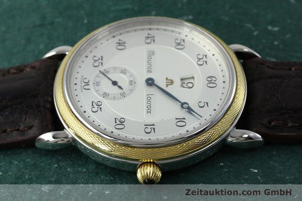 Used luxury watch Maurice Lacroix Masterpiece steel / gold manual winding Kal. Peseux 7046 Ref. 28505  | 152300 05