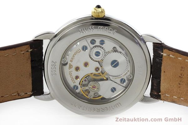 Used luxury watch Maurice Lacroix Masterpiece steel / gold manual winding Kal. Peseux 7046 Ref. 28505  | 152300 09