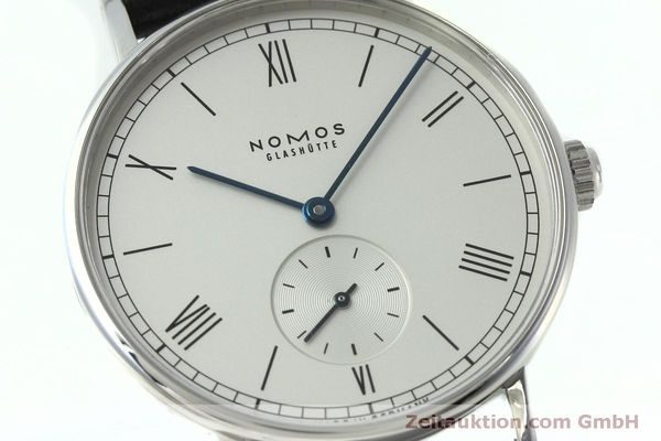 Used luxury watch Nomos Ludwig steel manual winding Kal. Alpha 40913  | 152302 02