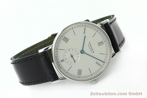 Used luxury watch Nomos Ludwig steel manual winding Kal. Alpha 40913  | 152302 03