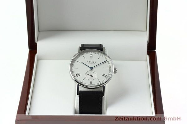 Used luxury watch Nomos Ludwig steel manual winding Kal. Alpha 40913  | 152302 07