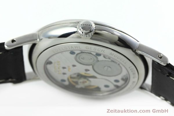 Used luxury watch Nomos Ludwig steel manual winding Kal. Alpha 40913  | 152302 08