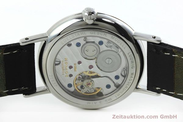 Used luxury watch Nomos Ludwig steel manual winding Kal. Alpha 40913  | 152302 09
