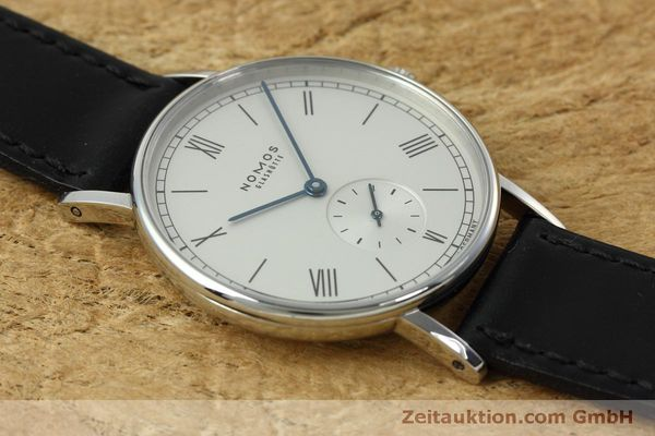 Used luxury watch Nomos Ludwig steel manual winding Kal. Alpha 40913  | 152302 13
