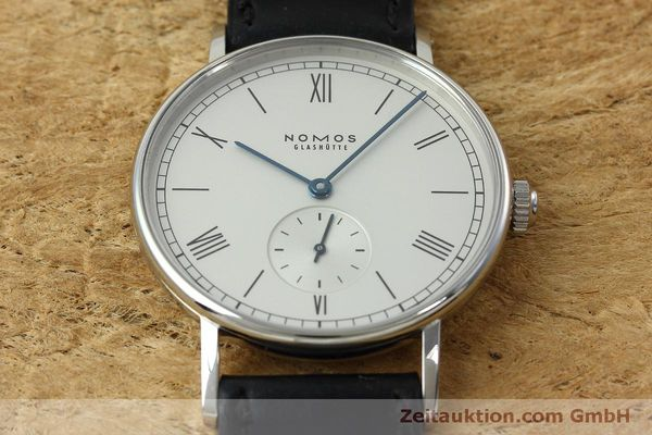 Used luxury watch Nomos Ludwig steel manual winding Kal. Alpha 40913  | 152302 14