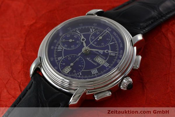 Used luxury watch Maurice Lacroix Croneo chronograph steel automatic Kal. ML 67 ETA 7750 Ref. 7006  | 152304 01
