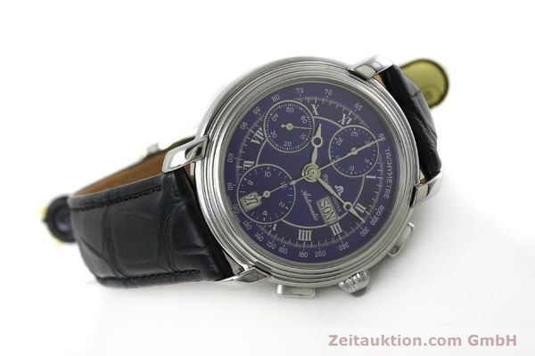 Used luxury watch Maurice Lacroix Croneo chronograph steel automatic Kal. ML 67 ETA 7750 Ref. 7006  | 152304 03