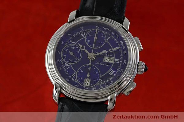 Used luxury watch Maurice Lacroix Croneo chronograph steel automatic Kal. ML 67 ETA 7750 Ref. 7006  | 152304 04