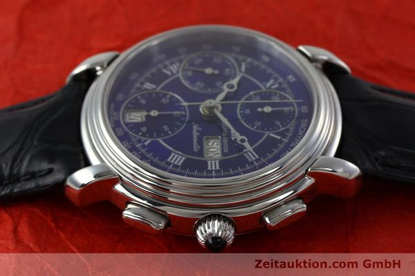 Used luxury watch Maurice Lacroix Croneo chronograph steel automatic Kal. ML 67 ETA 7750 Ref. 7006  | 152304 05