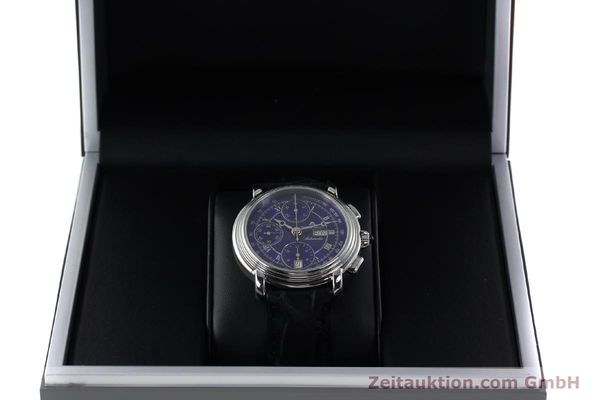 Used luxury watch Maurice Lacroix Croneo chronograph steel automatic Kal. ML 67 ETA 7750 Ref. 7006  | 152304 07