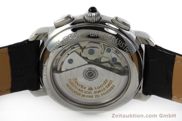 Used luxury watch Maurice Lacroix Croneo chronograph steel automatic Kal. ML 67 ETA 7750 Ref. 7006  | 152304 09