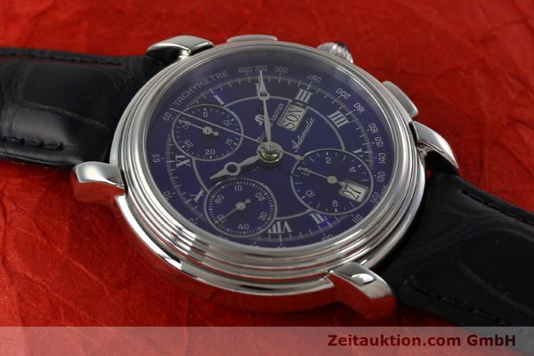 Used luxury watch Maurice Lacroix Croneo chronograph steel automatic Kal. ML 67 ETA 7750 Ref. 7006  | 152304 13