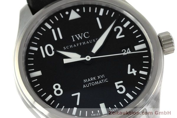 Used luxury watch IWC Mark XVI steel automatic Kal. 30110 Ref. 3255  | 152305 02