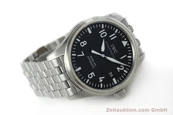 Used luxury watch IWC Mark XVI steel automatic Kal. 30110 Ref. 3255  | 152305 03