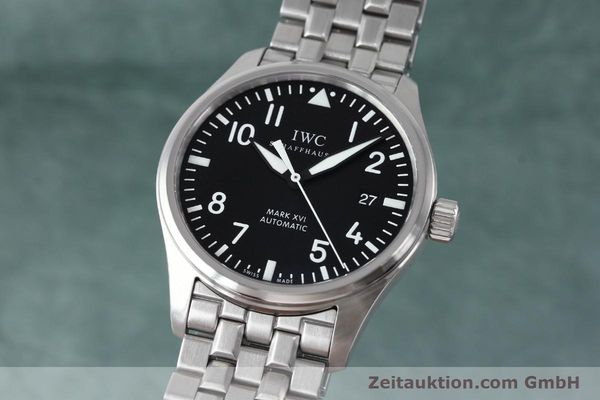 Used luxury watch IWC Mark XVI steel automatic Kal. 30110 Ref. 3255  | 152305 04