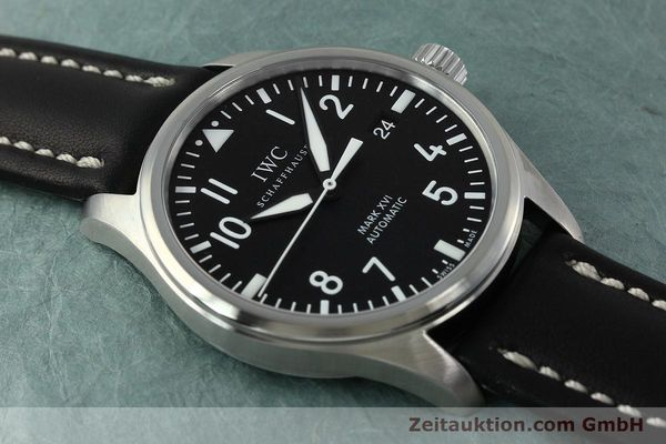 Used luxury watch IWC Mark XVI steel automatic Kal. 30110 Ref. 3255  | 152305 16