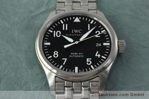 Used luxury watch IWC Mark XVI steel automatic Kal. 30110 Ref. 3255  | 152305 17